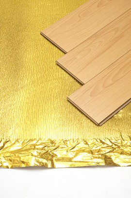 Trojan Acoustic Gold Underlay S/A Tape 3mm x 1m x 13.64m (15m2)