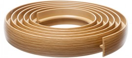 Bendable Coverstrip 3m (10ft) White Oak