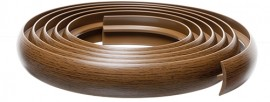 Bendable Uniflex Reducer 3m (10ft) Rustic Oak/Walnut