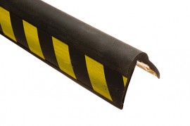 Trojan Corner Protector 50x50mm x 2m Hazard Black/Yellow