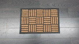 Coco Rubber/Coir Princess Mat 40x60cm Assorted