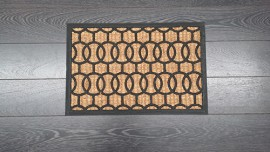 Coco Rubber Moulded Rech 40x60cm Mats Assorted Boucle
