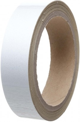 Reflective Tape 25mm x 10m Silver (White)