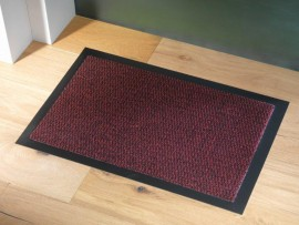 Trojan Ulticlean Dust Mat 90x120cm Red/Black