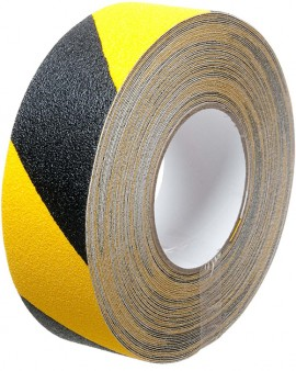 Safety Grip Hazard 50mm x 18.3m Black/Yellow