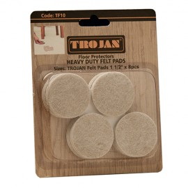 Trojan Felt Pads 11/2″ (8 pieces)