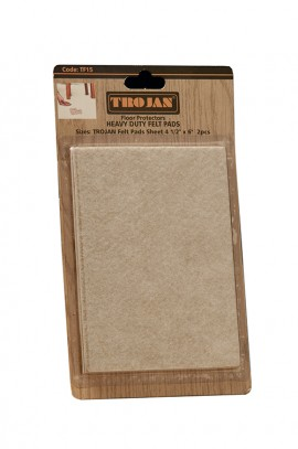 Trojan Felt Pads Sheet 41/2″ x 6″ (2 pieces)