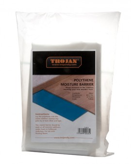 Trojan Vapour Barrier 600 Gauge 0.15mm x 4m x 5m (20m2)