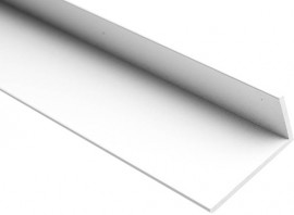 Hobbyline Metal 20x40x2mm x 1m Mill Finish
