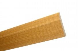 Trojan Novo Skirting 120mm x 2.4m Natural Oak