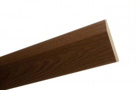 Trojan Novo Skirting 120mm x 2.4m Walnut