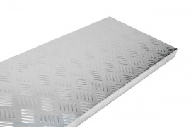 Aluminium Stair Tread Self Adhesive 750x225x25mm