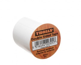 Trojan Double Sided Tape 50mm x 5m (30 rolls per box)