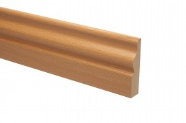 Trojan Architrave 65mm x 15mm 2.2m Steamed Beech