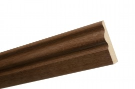 Trojan Architrave 65mm x 15mm 2.2m Walnut