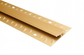 Trojan Carpet Jointing Strip 0.9m Gold