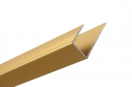 Trojan Square Edge 11mm 2.7m Gold