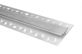 Trojan Carpet Jointing Strip 0.9m Silver