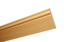 Trojan Skirting 120mm (5″) 2.4m Beech