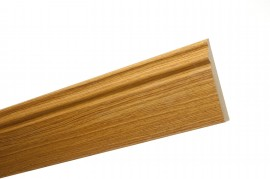 Trojan Skirting 120mm (5″) 2.4m White Oak