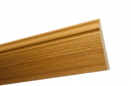 Trojan Skirting 150mm (6″) 2.4m White Oak