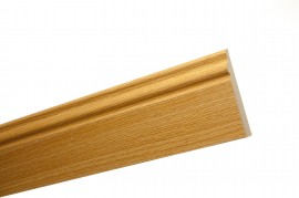 Trojan Skirting 120mm (5″) 2.4m Natural Oak