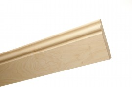 Trojan Skirting 120mm (5″) 2.4m Maple