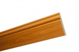Trojan Skirting 120mm (5″) 2.4m Light Cherry