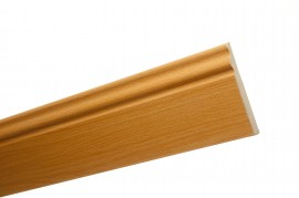 Trojan Skirting 120mm (5″) 2.4m Steamed Beech