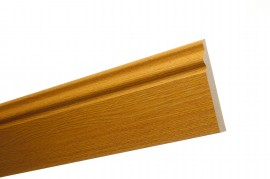 Trojan Skirting 120mm (5″) 2.4m Red Oak