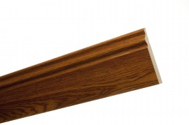 Trojan Skirting 120mm (5″) 2.4m Rustic Oak