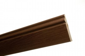 Trojan Skirting 120mm (5″) 2.4m Walnut