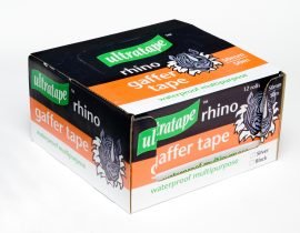 Ultratape Silver Gaffa Tape 50mm x 50m (12 Rolls)