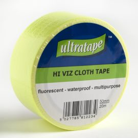Hi-Viz Yellow Tape 50mm x 20m