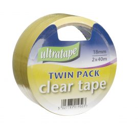 Clear Tape 18mm x 40m (24) Counter Display Box