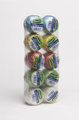Polypropylene Twine Assorted colours (10 rolls)