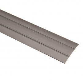 Trojan S/A Coverstrip 2.7m Brushed Silver