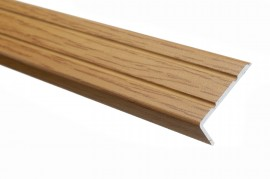 Trojan S/A Angle Edge 25mm x 8mm 0.9m Dark Oak