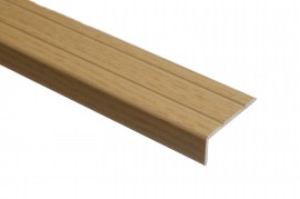 Trojan S/A Angle Edge 25mm x 8mm 0.9m Natural Oak