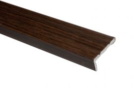 Trojan S/A Angle Edge 25mm x 8mm 0.9m Walnut