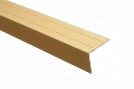 Trojan S/A Angle Edge 25mm x 20mm 2.7m Gold
