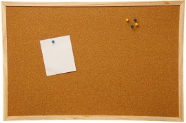 Cork Notice Boards 60cm x 40cm
