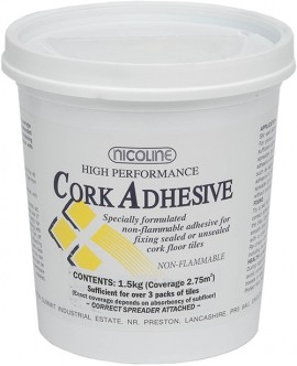 1.5 Kg Cork Adhesive (coverage: 2.75m2 / 3 packs)