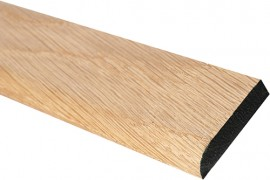Trojan Solid Coverstrip 35mm Oak 1.83m