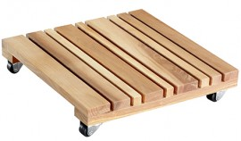 Multi Roller FENG SHUI 280x280mm,alder,oiled4xSC,d20mm,LC100kg