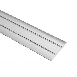Trojan S/A Coverstrip 2.7m Chrome