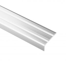 Trojan S/A Angle Edge 25mm x 8mm 2.7m Chrome