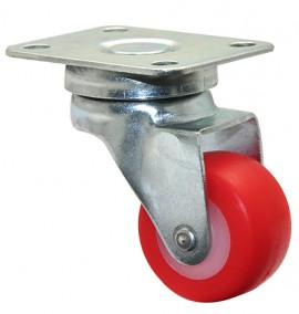 Wagner SWIVEL CASTOR D30mm,PU,zinced,LC30kg (01 2130 01)