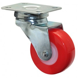 Wagner SWIVEL CASTOR D40mm,PU,zinced,LC40kg (01 2140 01)