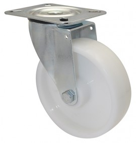 Wagner TRANSPORT SWIVEL CASTOR D125mm,PP,RB,LC100kg (04 6525 01)